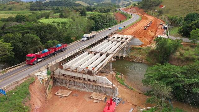 Duplicação BR-101: andamento das obras no trecho entre Viana e Guarapari