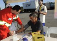 Campanha de Saúde e Segurança na estrada