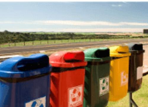 Destinação correta de resíduos