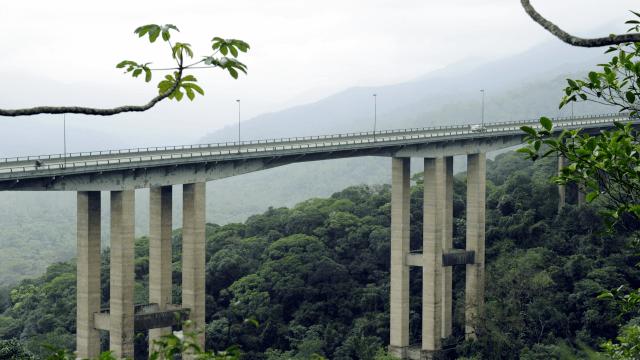 Rodovia dos Imigrantes - Trecho de Serra